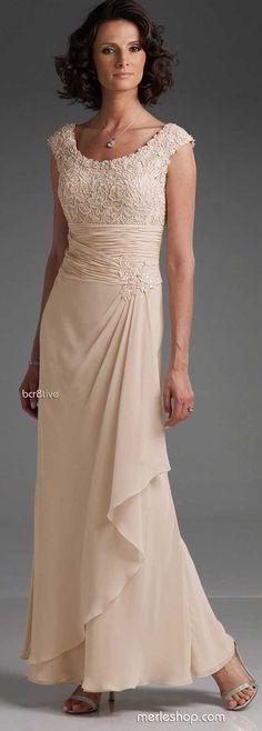 SheathColumn Straps Chiffon Dress