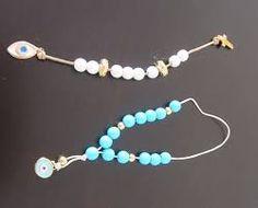 result for μπομπονιερα μπεγλερι Pearl Necklace, Beaded Bracelets, Pearls, Wedding, Image, Jewelry, Favors, Google, Fashion