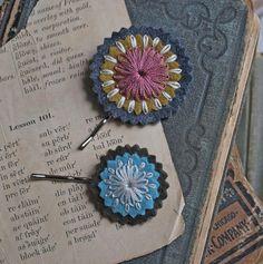 felt + embroidery