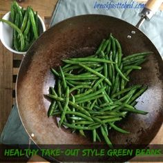Healthy Take-Out Style Green Beans
