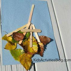 Fall Leaf Rake Craft