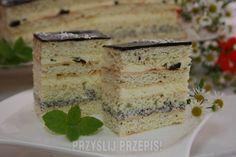 Ciasto amoniaczek przekładany
