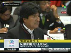 Evo Morales: La paz es el patrimonio de América Latina y el Caribe
