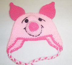crochet touca leitão - Pesquisa Google