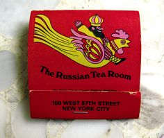 Milton Glaser for the Russian Tea Room