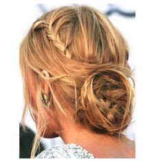 BLAKE LIVELY& HAIR ROLL OVER photo for 4 easy steps! For the star& meet-and-greet with the Duke and Duchess of Cambridge, hairstylist Rod Ortega drew inspiration from royalty of a different kind – & goddesses of classical Greece. Good Hair Day, Love Hair, Great Hair, Gorgeous Hair, Ombré Hair, Hair Dos, Her Hair, Prom Hair, Bridesmaid Hair