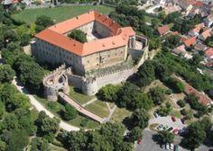 Medieval Siklós Castle in Hungary was built by Baron János György Benyó and extended by the Garai family.
