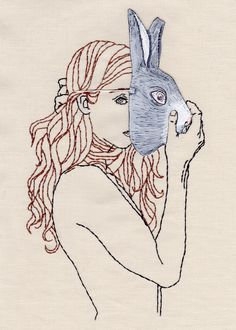 The art and embroidery of Meghan Willis @portfoliobox