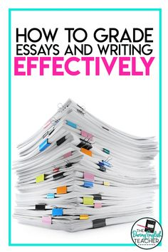 English Teacher Tip: Grading Essays Effectively: Here's a look at my grading philosophy. These essay grading tricks for middle school ELA and high school English teachers will help make grading essays smoother, quicker, and more effective. Teacher tips for grading writing. #teacher #middleschoolELA #highschoolEnglish #teachertips #gradingessays #teachingwriting Close Reading Strategies, Teaching Strategies, Teaching Resources, Teaching Ideas, English Teachers, English Classroom, Teaching English, Teaching Posts, Teaching Writing