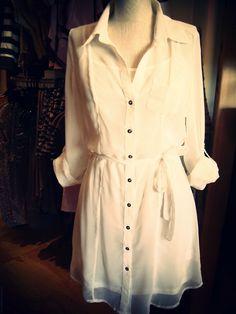 Sex appeal.  http://shopcastr.com/dlrtoronto/sheer-white-shirt-dr/6044