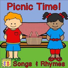 Anytime is the perfect time for a picnic. Rev up students& appetites for picnic fun with these tasty and thematic circle-time songs and rhymes. Great for the end of school and summer school! Picnic Activities, Circle Time Activities, Picnic Theme, Camping Theme, Movement Preschool, Circle Time Songs, Camp Songs, Songs For Toddlers, Rhymes Songs