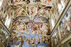 Works of art and architecture by Renaissance master Michelangelo can be found all over Rome. Where to find Michelangelo's art in Rome. Miguel Angel, Sistine Chapel Ceiling, Renaissance Artists, Italian Renaissance, Angels And Demons, Vatican City, Rome Italy, Italy Art, Nature Wallpaper