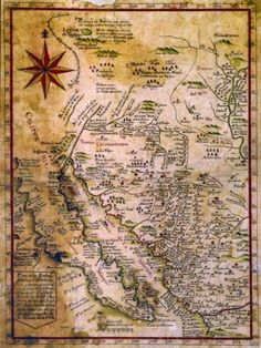 Baja California Old Vintage Map 1772 Mexico Central America Reprint 18x24 rodneysbookstore http://www.amazon.com/dp/B0036VC6OI/ref=cm_sw_r_pi_dp_jhBBwb0KGB75Z