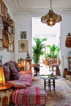"""bohemianhomes: """"Guide to Creating a Bohemian Moroccan Home """""""