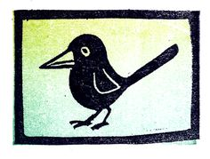 a Stamp a Day: birdie