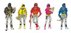 Goseigers Advanced by BadDogg on DeviantArt Power Rangers Comic, Marvel, Cosplay, Fan Art, Deviantart, Comics, Cartoons, Comic, Comics And Cartoons