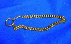 Vintage German Gold Color Watch Fob #CD