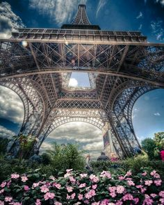 Eiffel Tower by Alex Hill . We travel for romance, we travel for architecture and we travel to be lost. This is one of my favorite travel photographs, the one and only Eiffel Tower in Paris, France Beautiful Paris, Paris Love, Paris Travel, France Travel, Paris France, Torre Eiffel Paris, France Eiffel Tower, Eiffel Towers, Paris Wallpaper