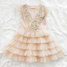 Gold and pink tutu dress - Tutu du Monde