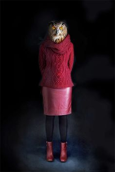 My Owl Barn: Second Skins: Dressed Animals Photographed by Miguel Vallina