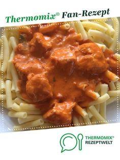 Putengulasch von Mupfl. Ein Thermomix ® Rezept aus der Kategorie Hauptgerichte mit Fleisch auf www.rezeptwelt.de, der Thermomix ® Community.