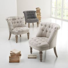 1000 ideas about fauteuil crapaud gris on pinterest. Black Bedroom Furniture Sets. Home Design Ideas