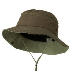 87f965e6241 Big Size Talson UV Bucket Hat with Chin Cord