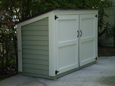 Garbage Can shed by HistoricShed, via Flickr