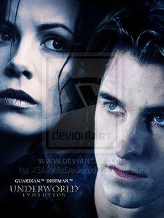 Selene and Michael Underworld Evolution Promo by TheDaggersTip.deviantart.com on @deviantART