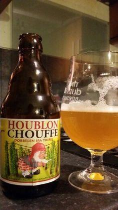 Houblon Chouffe Dobbelen IPA Tripel By Brasserie D'Achouffe #craftbeer #realale…