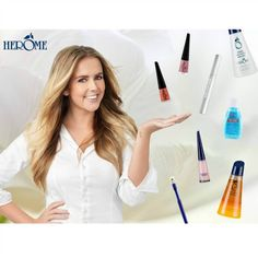 Within Herome's total beauty concept, beautiful hands and healthy nails are still top priority but the brand is much more and also offers  a full range of hand, feet and eye make up cosmetics so that the rest of your body also gets the attention and pampering it deserves.