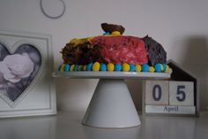 Cadburys creme egg chocolate fudge cake - a great Easter treat and fun to make with the family.