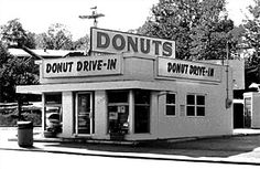 Visit this donut shop on Route 66.  May I suggest the maple longjohn?