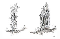 Un dibujo | Buildings from Mars