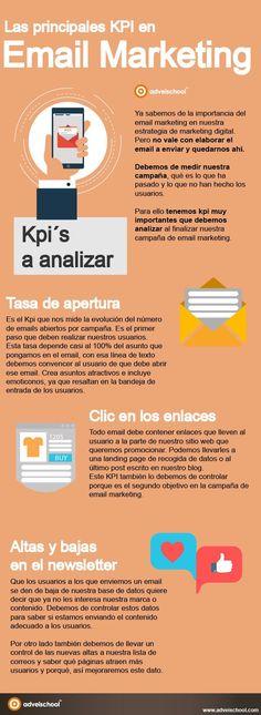 Hola: Una infografía sobre lasPrincipales KPI del email marketing. Vía Un saludo