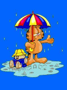 Animated wallpaper, screensaver for cellphone Cartoon Gifs, Animated Cartoons, Cartoon Characters, Garfield And Odie, Garfield Comics, Cellphone Wallpaper, Phone Wallpapers, Moving Gif, Animation