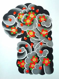 Cherry Blossom half sleeve by Byakuren-Studios.deviantart.com on @DeviantArt