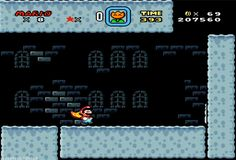 Super Mario World Super Jump #gif