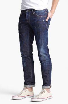 DSQUARED2 - Blue Slim Fit Jeans