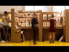 Cartonlab diseña los stands de Ilustrísima 2014, el Salón del Dibujo y la Ilustración que se celebra en el Museo ABC.