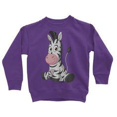 Love and Design Zebra Kids Sweatshirt