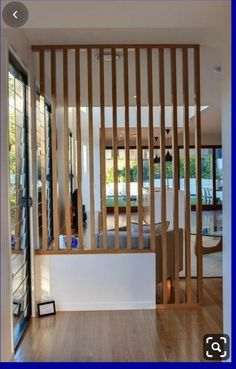 Home Interior Boho Clever screening idea for open spaces from Kalka Homes in Brisbane.Home Interior Boho Clever screening idea for open spaces from Kalka Homes in Brisbane House Design, House, Home, Modern Room Divider, Deco, House Interior, Home Deco, Display Homes, Home Interior Design
