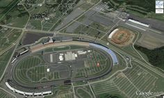 Interactive Map of Charlotte Motor Speedway