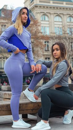 Who's your gym buddy? It takes two to tango, grab your workout partner and head to the gym! Fit Women, Women Wear, Designer Party Dresses, Beautiful Outfits, Girl Fashion, Clothes For Women, Workout Partner, Gym Buddy, Muscle Training