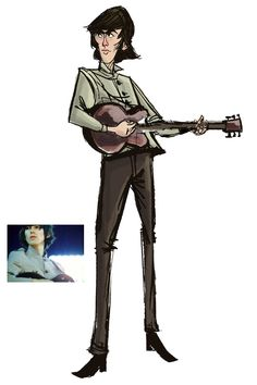 George Harrison Shea Stadium by ryanmorris8401.deviantart.com on @deviantART
