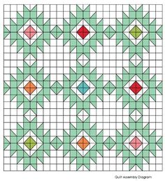 Looking for your next project? You're going to love Desert Star - Tiled - Lap quilt pattern by designer airbornquilts.