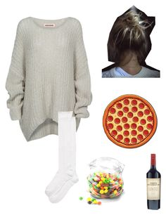 """Home Alone"" by an-internet-girl ❤ liked on Polyvore featuring Bodhi, Kate Spade, Dot & Bo, merightnow and minusthewine"
