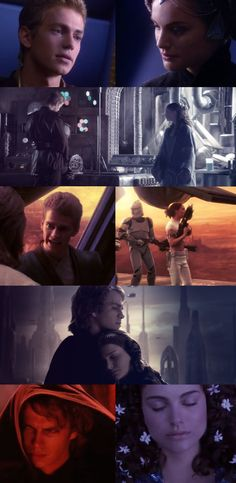 Anakin & Padme. Why do all my favorite fictional character couples get torn apart from each other?!