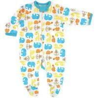 Luvable Friends Sleep n Play Romper - Teal Elephant Reduced to $28.95 for a limited time*. Follow the link to buy it instore at http://www.mamadoo.com.au/baby-clothes/baby-sleepwear/baby-girl-sleepwear/ #mamadoo #baby #girls #sleepwear #fashion #cuteas #minifashionista #wraps #pyjamas #romper #sleepsuit #sleepingbag