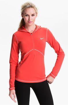 Nike Half Zip Hoodie available at #Nordstrom